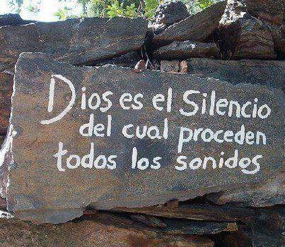 silencio dios