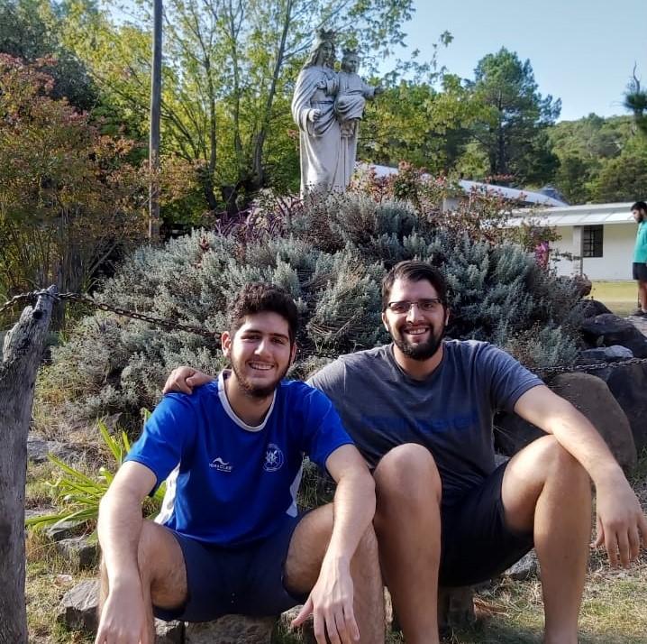 Rodrigo Arnau e Ignacio Testolino - Novicios Salesianos2